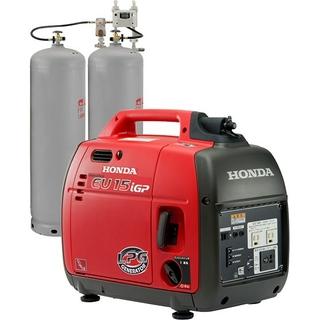 ホンダ(ホンダ)のホンダ防災向け低圧LPガス発電機EU15iGP(防災関連グッズ)