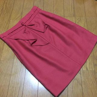 Rirandture - 【タグ付き】Rirandture 膝上バックリボンスカート リランドチュール