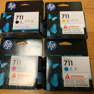 EPSON - 新品 hp インク カートリッジ 4色セット 純正