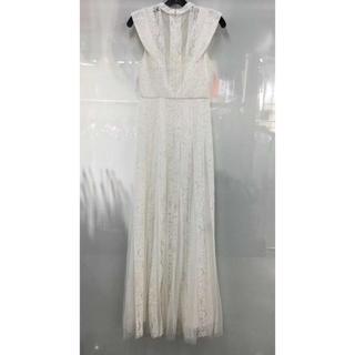 ビーシービージーマックスアズリア(BCBGMAXAZRIA)の❤️BCBG 2020新作 新品 白ドレス 綺麗2 色(ロングドレス)