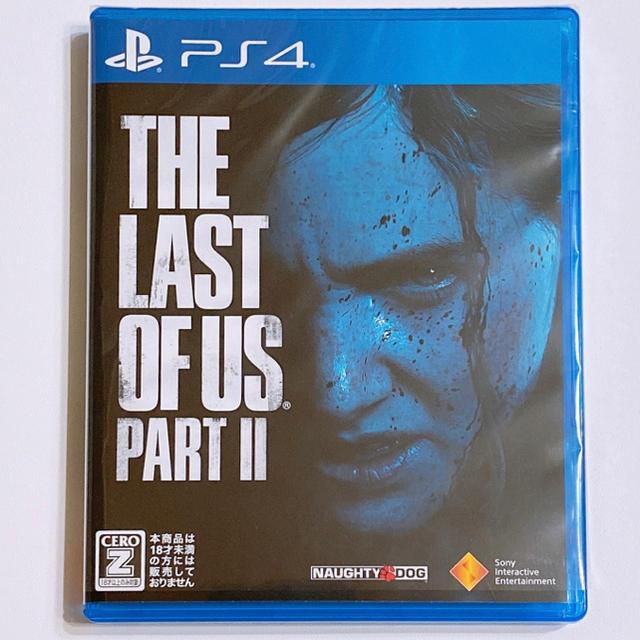 PlayStation4(プレイステーション4)のThe Last of Us Part II ラストオブアス 2 新品! PS4 エンタメ/ホビーのゲームソフト/ゲーム機本体(家庭用ゲームソフト)の商品写真