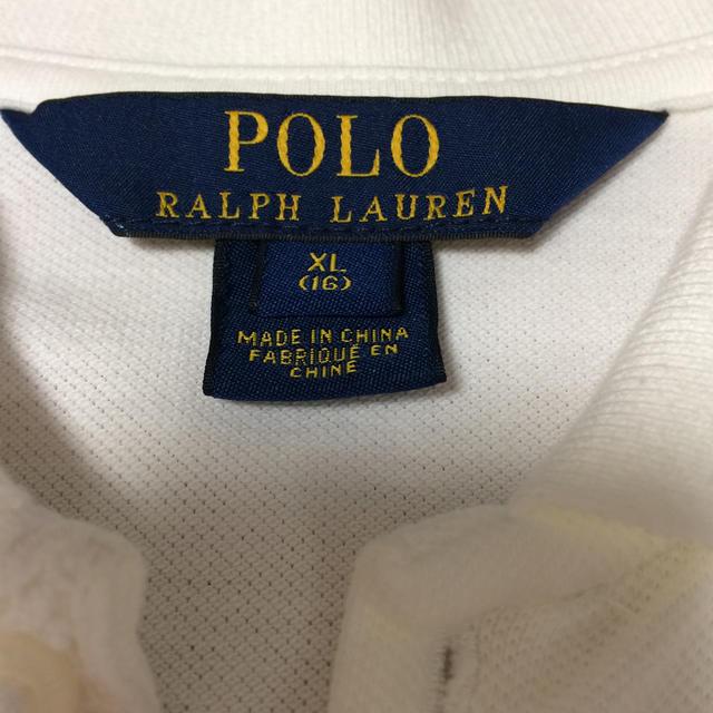 POLO RALPH LAUREN(ポロラルフローレン)のポロ ラルフローレン XL ワンピース キッズ/ベビー/マタニティのキッズ服女の子用(90cm~)(ワンピース)の商品写真