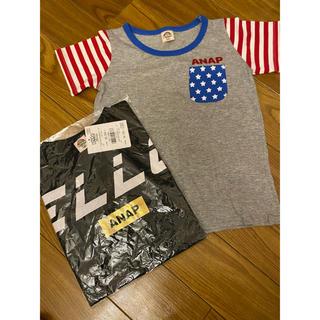 アナップキッズ(ANAP Kids)の ANAP kids 2点売り(Tシャツ/カットソー)