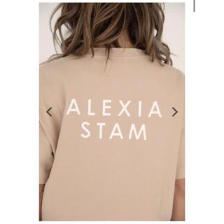 アリシアスタン(ALEXIA STAM)の即購入可能♡alexiastam ロゴTシャツ アリシアスタン Tシャツ(Tシャツ(半袖/袖なし))