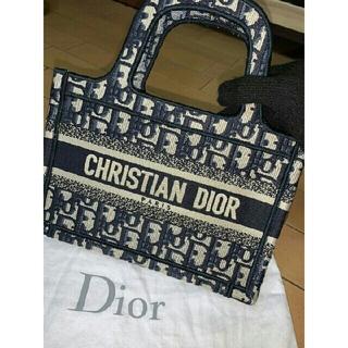 クリスチャンディオール(Christian Dior)のDior ディオール ブック トート ミニ(トートバッグ)