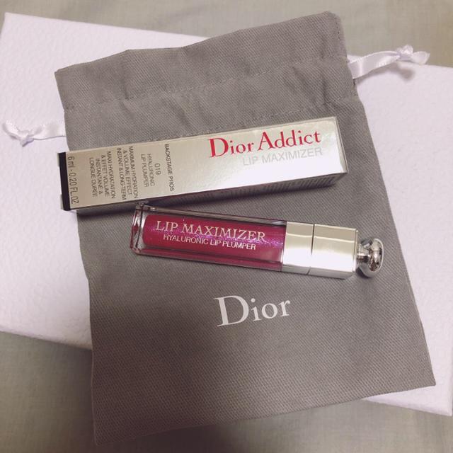 Dior(ディオール)のDior アディクト リップ マキシマイザー 019 トーキョーピンク 限定色 コスメ/美容のベースメイク/化粧品(リップグロス)の商品写真
