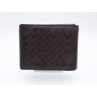 ボッテガヴェネタ(Bottega Veneta)の《BOTTEGA VENETA/イントレチャート ブラウン 三つ折り財布》B (折り財布)