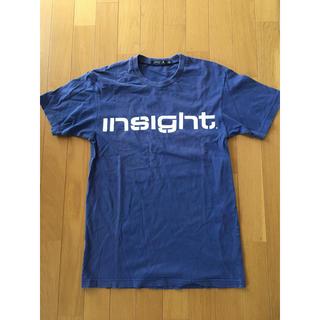 インサイト(INSIGHT)のオーストラリア人気サーフブランド インサイトの青色Tシャツ(Tシャツ/カットソー(半袖/袖なし))