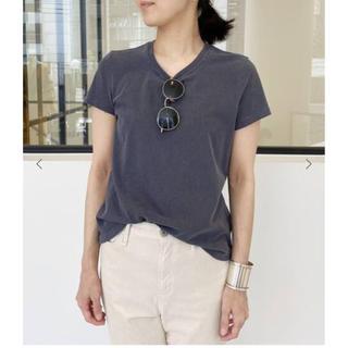 アパルトモンドゥーズィエムクラス(L'Appartement DEUXIEME CLASSE)のJAMES PERSE S/S T-SH  ネイビー 36 アパルトモン(Tシャツ(半袖/袖なし))