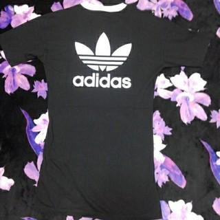 アディダス(adidas)のadidas Tシャツ(ミニワンピース)