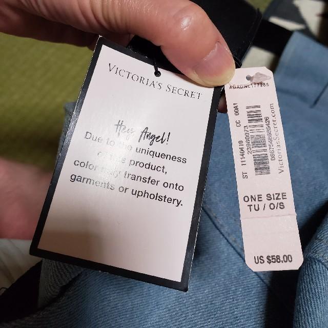 Victoria's Secret(ヴィクトリアズシークレット)のビクトリアズシークレットデニムバッグ レディースのバッグ(ショルダーバッグ)の商品写真