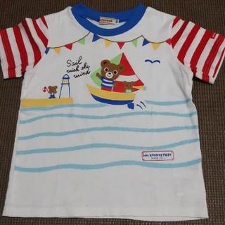 mikihouse - ミキハウス ヨットTシャツ 100