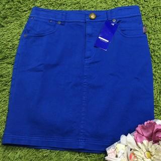 BURBERRY BLUE LABEL - 新品burberryバーバリーブルーレーベル 鮮やかカラーのベーシックスカート