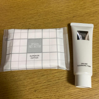 ANA(全日本空輸) - ザ ギンザ コットン 洗顔 2点セット 未使用