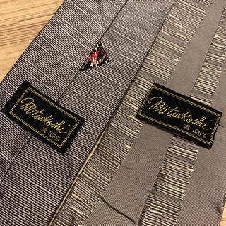 ミツコシ(三越)の日本製 シルク 西陣織 三越ブランド ネクタイ(ネクタイ)