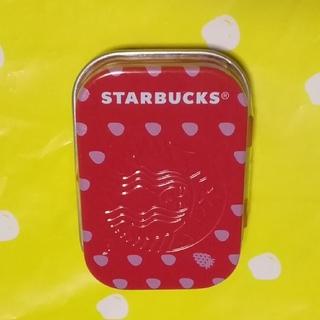 Starbucks Coffee - スターバックス☕ アフターコーヒーミント (ストロベリー)🍓 1缶