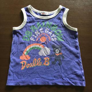 ダブルビー(DOUBLE.B)のダブルビー ランニングシャツ 90cm(Tシャツ/カットソー)