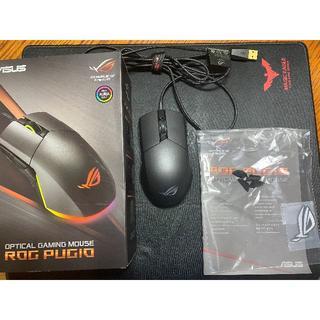 エイスース(ASUS)のゲーミングマウス ASUS P503 ROG PUGIO AURASYNC対応(PC周辺機器)