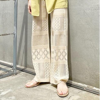Kastane - レース編みパンツ
