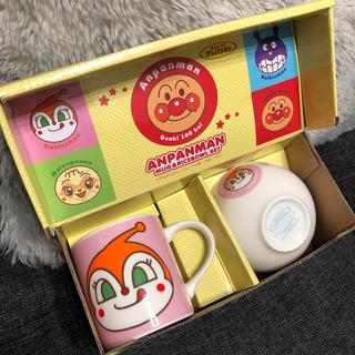 アンパンマン - アンパンマン マグ&茶碗セット ドキンちゃん