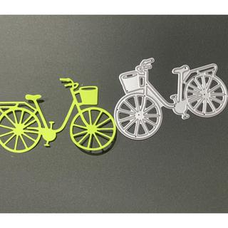 新品未使用 カッティングダイ 自転車(型紙/パターン)