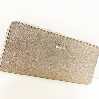 kate spade new york - katespade ケイトスペード グリッター 長財布