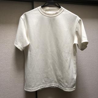 エヌハリウッド(N.HOOLYWOOD)のN.HOOLYWOOD ジャージーカットソー 白(Tシャツ/カットソー(半袖/袖なし))