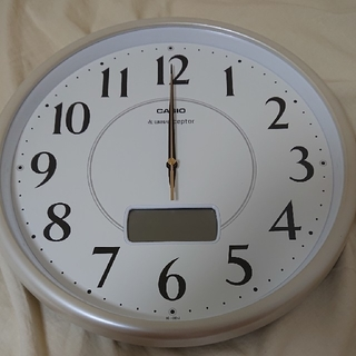 CASIO - カシオ 電波時計 掛け時計 新品未使用品