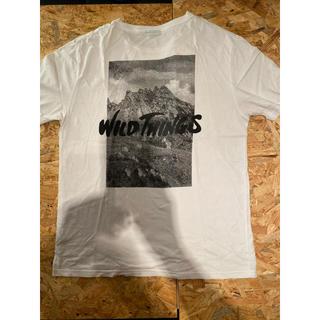 ワイルドシングス(WILDTHINGS)のkatsumami様専用 WILDTHINGS バックプリント Tシャツ(Tシャツ/カットソー(半袖/袖なし))