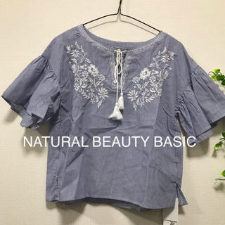 NATURAL BEAUTY BASIC - NATURAL BEAUTY BASIC シャツ