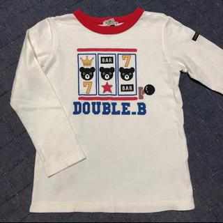 ダブルビー(DOUBLE.B)のダブルビー ロンT 120(Tシャツ/カットソー)