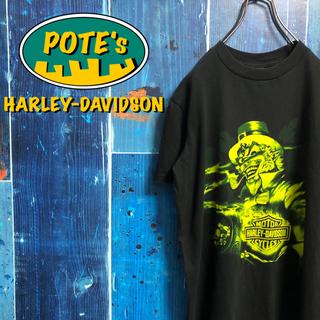 Harley Davidson - 【ハーレーダビッドソン】ウィザードビッグキャラプリントTシャツ