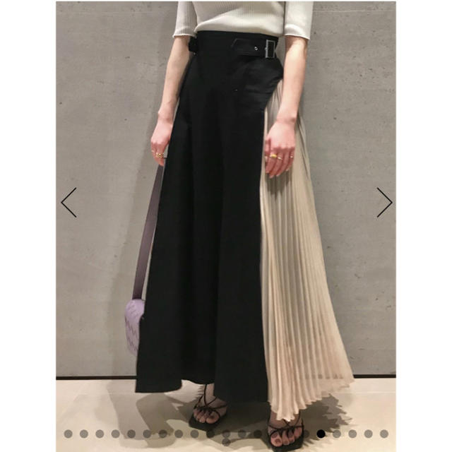 snidel(スナイデル)のりっちゃんmama様専用 スイッチングスカート SNIDEL レディースのスカート(ロングスカート)の商品写真