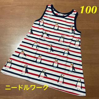 ニードルワークスーン(NEEDLE WORK SOON)の新品 ニードルワーク チュニック 100(Tシャツ/カットソー)