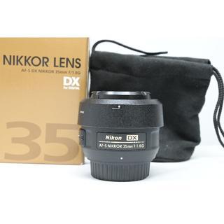 ニコン(Nikon)のAF-S DX NIKKOR 35mm f/1.8G ニコンDXフォーマット専用(レンズ(単焦点))