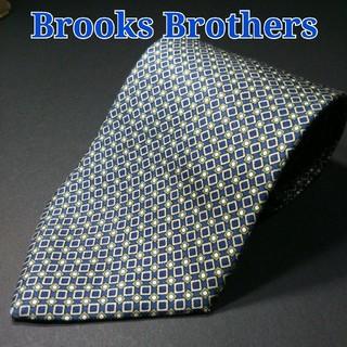 ブルックスブラザース(Brooks Brothers)の【美品】BROOKS BROTHERS  スクエアドット ネクタイ ネイビー(ネクタイ)