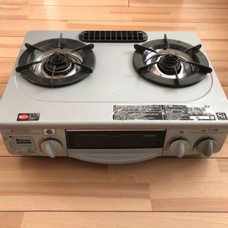 リンナイ(Rinnai)のリンナイ グリル付ガスコンロ 片面水有りグリル KGE-81NTSL(調理機器)