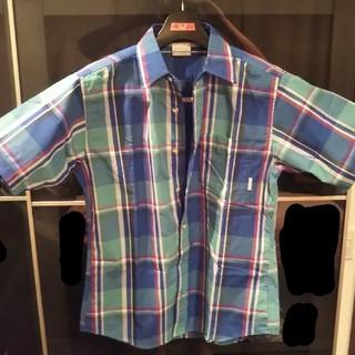 Columbia - Columbia 半袖 シャツ アウドア ネルシャツ