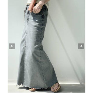 L'Appartement DEUXIEME CLASSE - 【GOOD GRIEF/グッドグリーフ】DENIM LONG スカート38サイズ