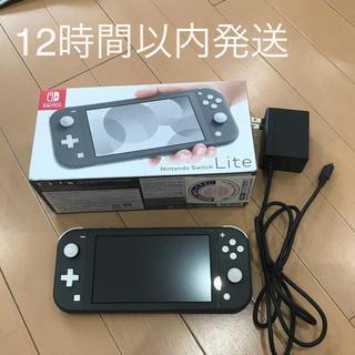 Nintendo Switch - Nintendo Switch スイッチ ライト グレー 本体