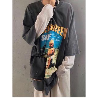 トゥデイフル(TODAYFUL)のCLOWNÉ   オーバーサイズ Tシャツ 新品未使用 送料込み(Tシャツ(半袖/袖なし))