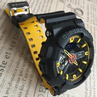 ジーショック(G-SHOCK)のG-SHOCK  ブラック×イエロー(腕時計(デジタル))