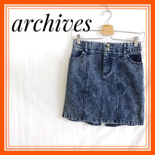 archives - 【 極美品!!】◆ archives ◆ミニスカート