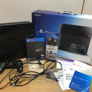 SONY - PS4本体箱付き(ジャンク品)+FF7リメイク新品未使用品