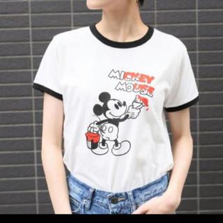 LOWRYS FARM - ローリーズファーム ミッキー Tシャツ 美品 ディズニーコラボ