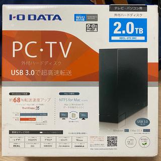 IODATA - 外付ハードディスク 2.0TB