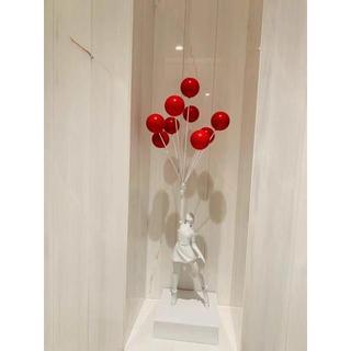 メディコムトイ(MEDICOM TOY)のバンクシー レッド バルーン BANKSY MEDICOMTOY(彫刻/オブジェ)