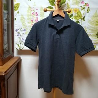 UNIQLO - ✨ユニクロ UNIQLO グレー色のポロシャツMサイズ♪