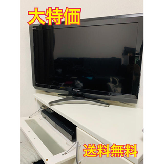 SHARP - ✨大特価✨SHARP 液晶テレビ・ブルーレイディスクレコーダー2点セット