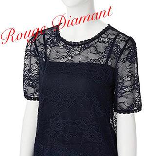 アールディールージュディアマン(RD Rouge Diamant)の【新品】RD ルージュディアマン レーストップス (カットソー(半袖/袖なし))